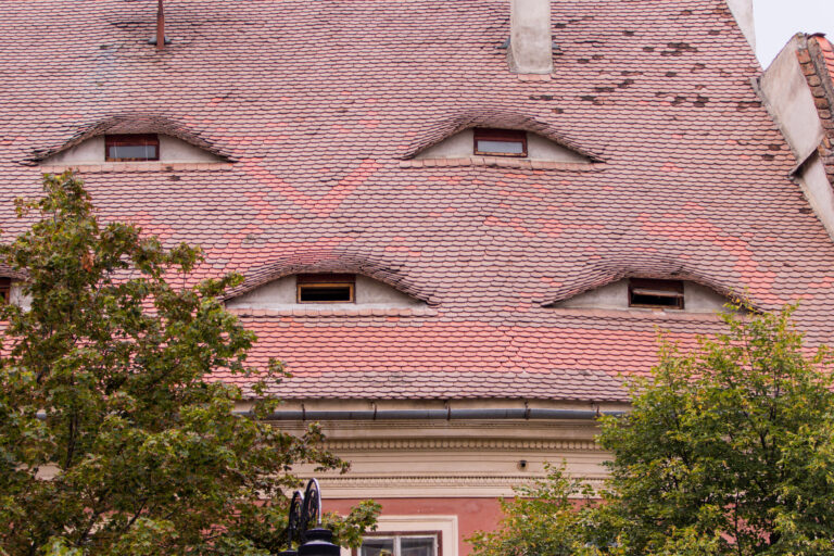 House with eyes